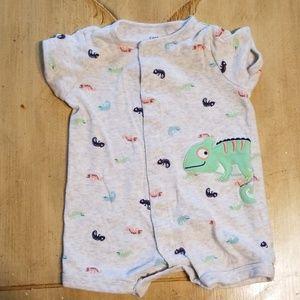 Carters 3M short sleeve/shorts onesie
